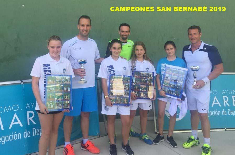 Campeones San Bernabé 2019